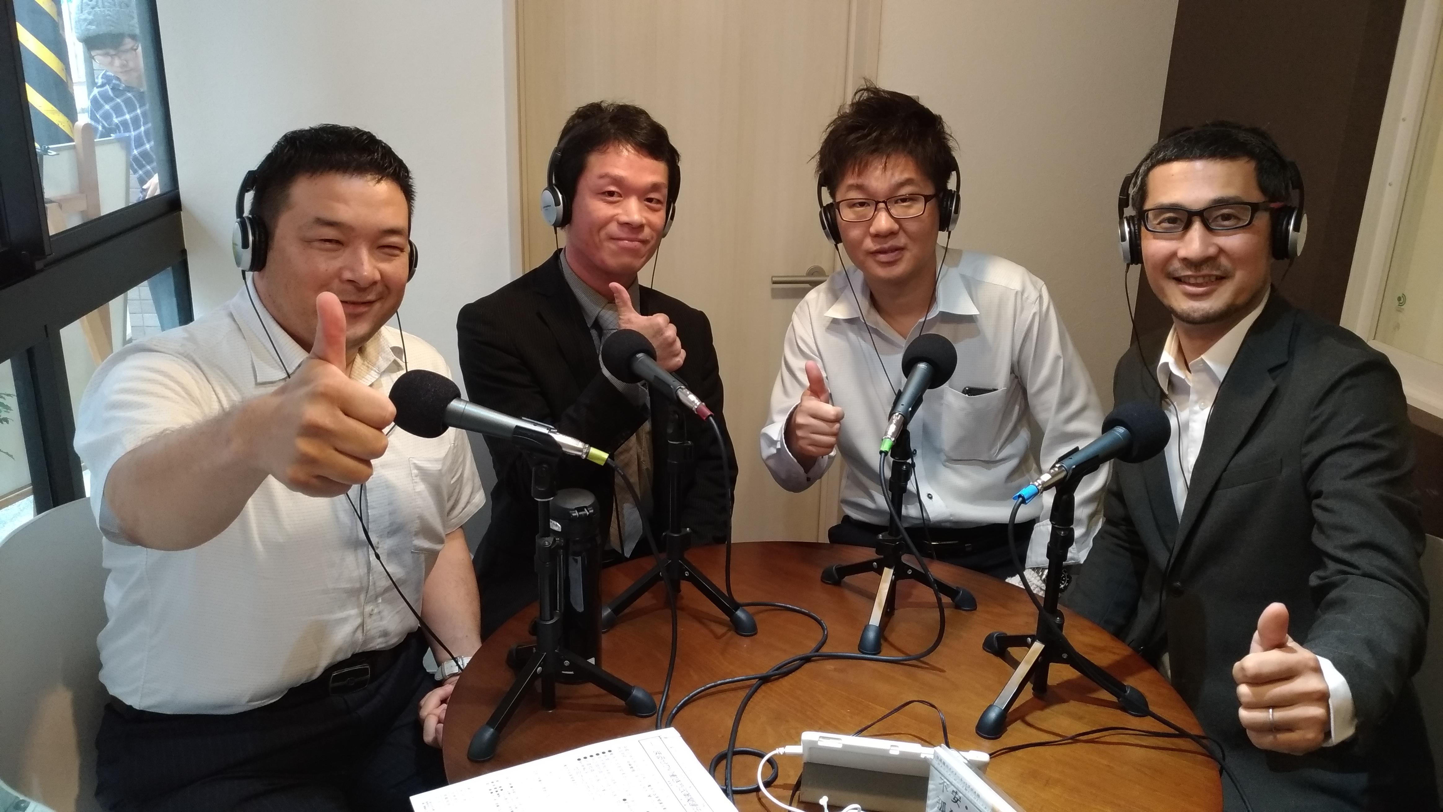 ラジオ放送予定 2018年10月18日(木)・ 25日(木)夜22:30~